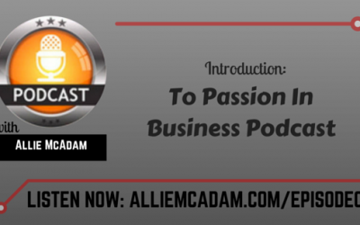 PIB00 – Introduction To Passion In Business Podcast