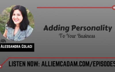PIB05 – Adding Personality To Your Business with Alessandra Colaci