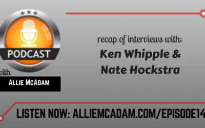 PIB14 – Recap Of Interviews With Ken Whipple and Nate Hockstra