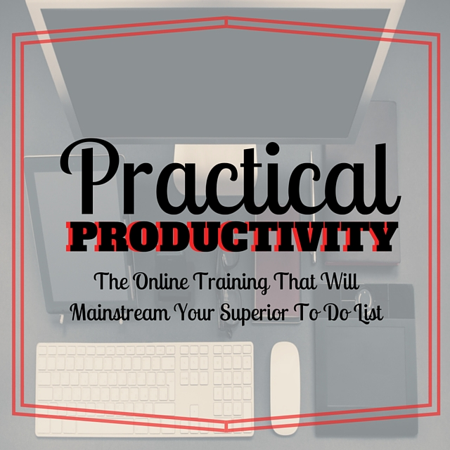 Practical Productivity