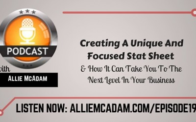 PIB19 – Creating A Unique And Focused Stat Sheet & How It Can Take You To The Next Level In Your Business