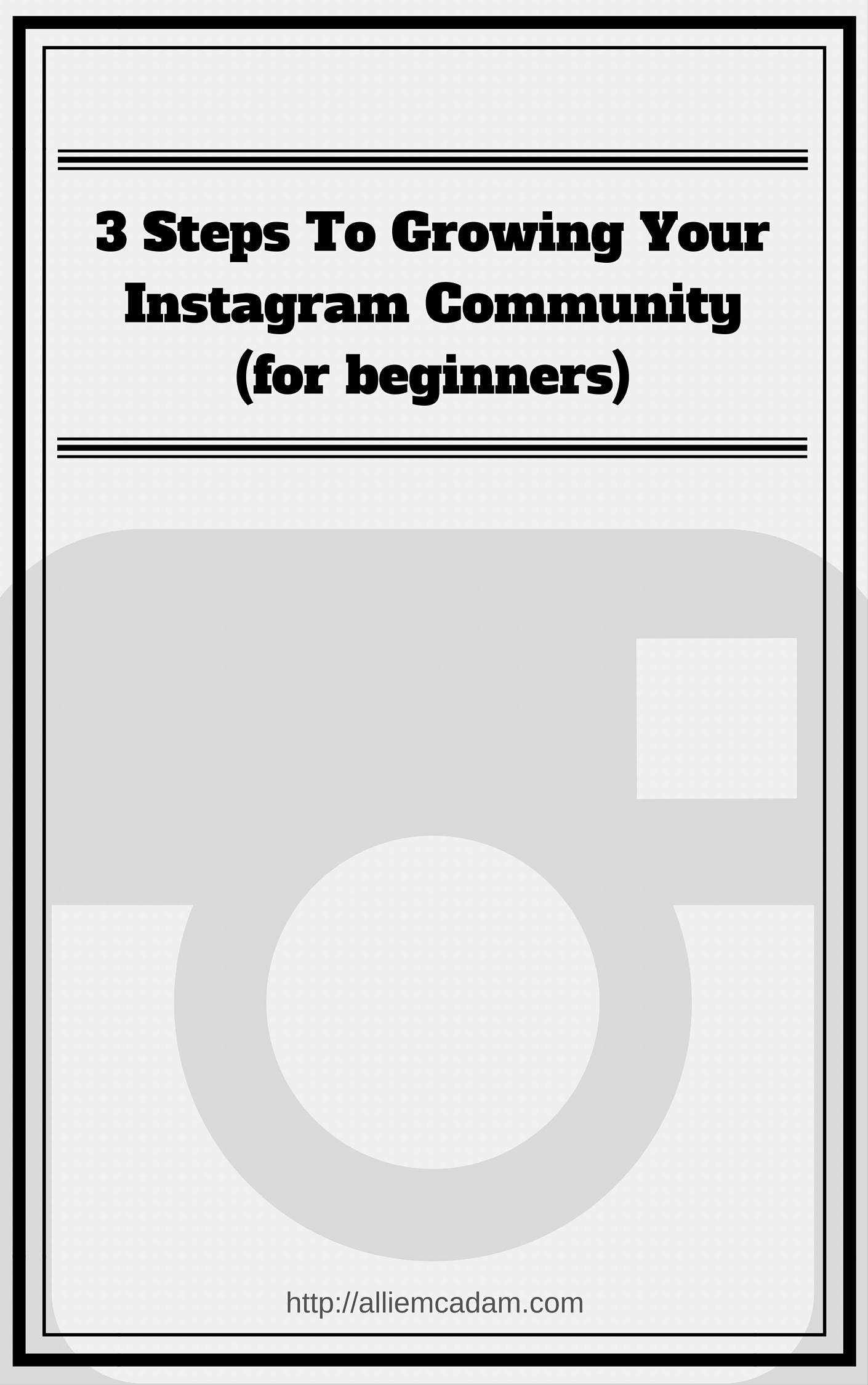 Instagram Free Guide For Growing Your Community